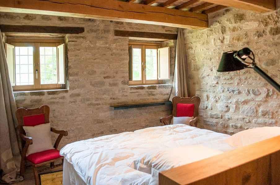 Assisi vacanze in dimora d'epoca. Appartamento vacanze Gaia bBB Gaiattone  Eco Resort Bio Umbria