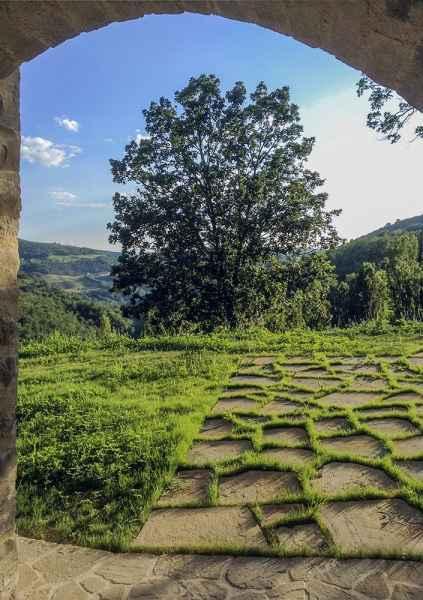 Assise appartement de vacances Gaia. Bed & breakfast Gaiattone Agrotourisme biologique Ombrie Italie