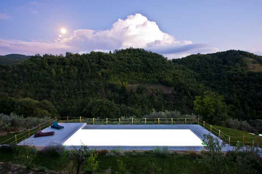 Gaiattone Eco Resort vacances à Assise. Jardin potager BIO, Tourisme vert Ombrie, Italie