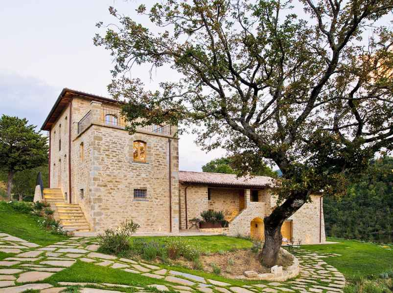 Gaiattone Eco Resort Ombrie, Perouse. Appartement et chambres d